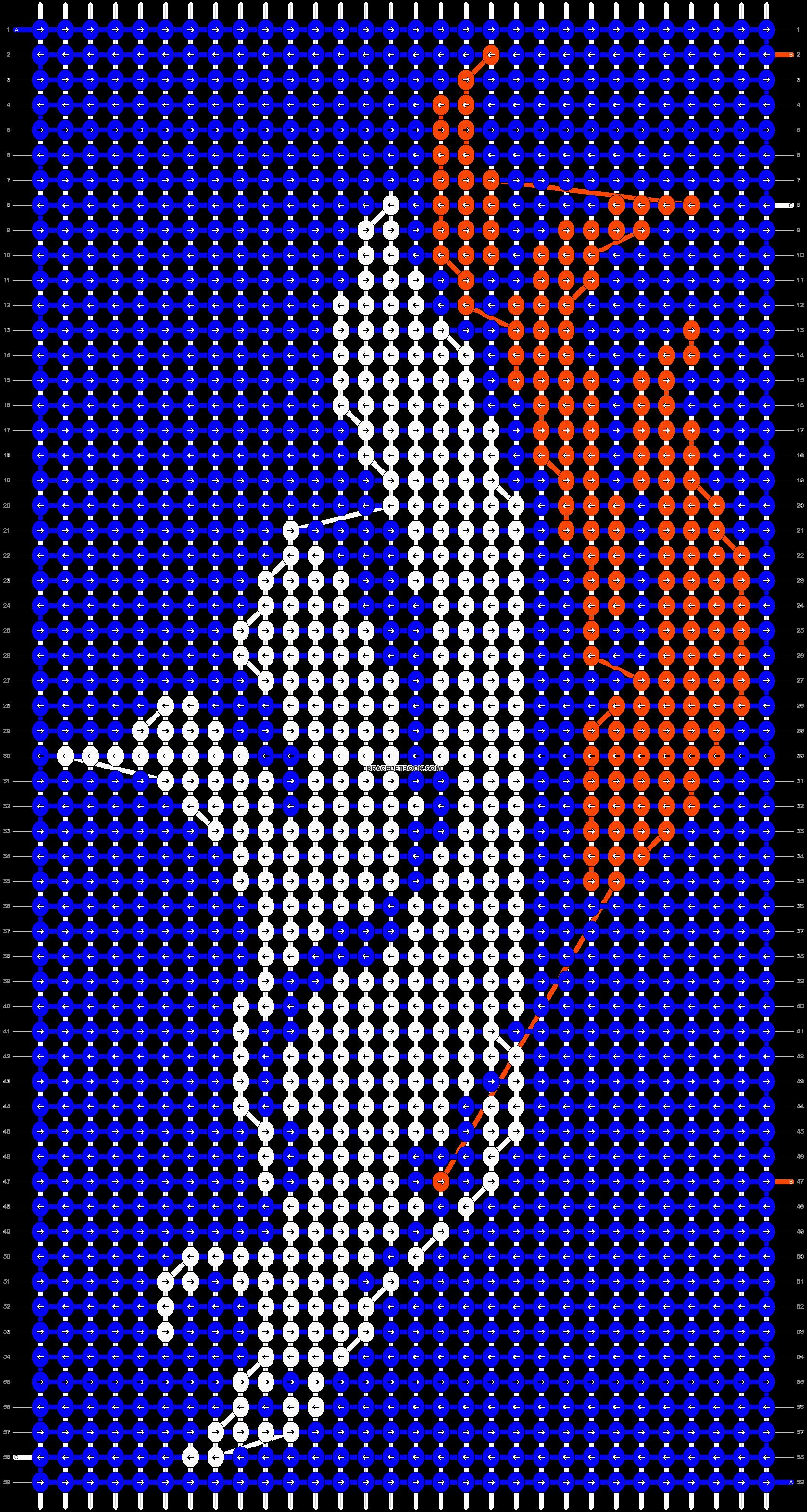 Alpha pattern #12748 pattern