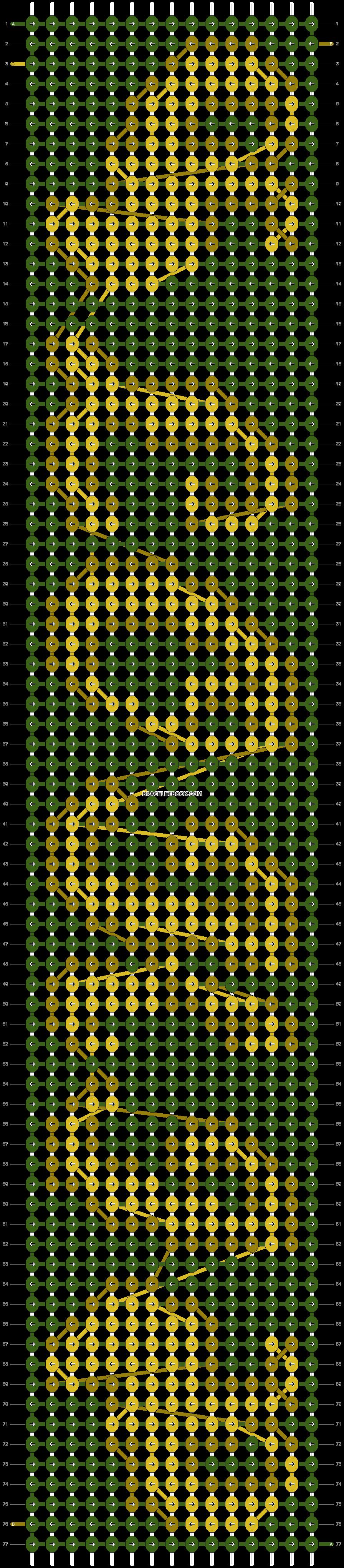 Alpha pattern #12749 pattern