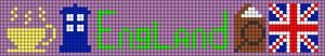 Alpha Friendship Bracelet Pattern #12750