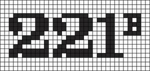 Alpha Friendship Bracelet Pattern #12754
