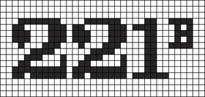 Alpha pattern #12754