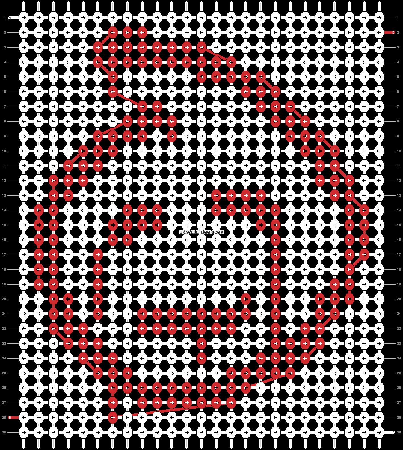 Alpha pattern #12761 pattern