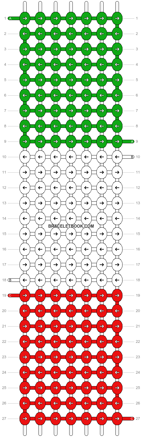 Alpha pattern #12762 pattern