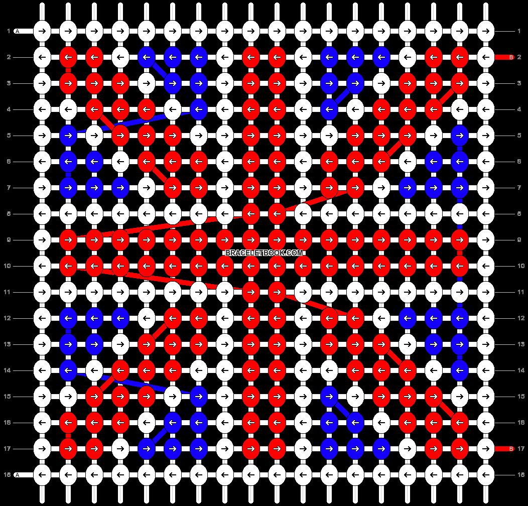 Alpha pattern #12763 pattern
