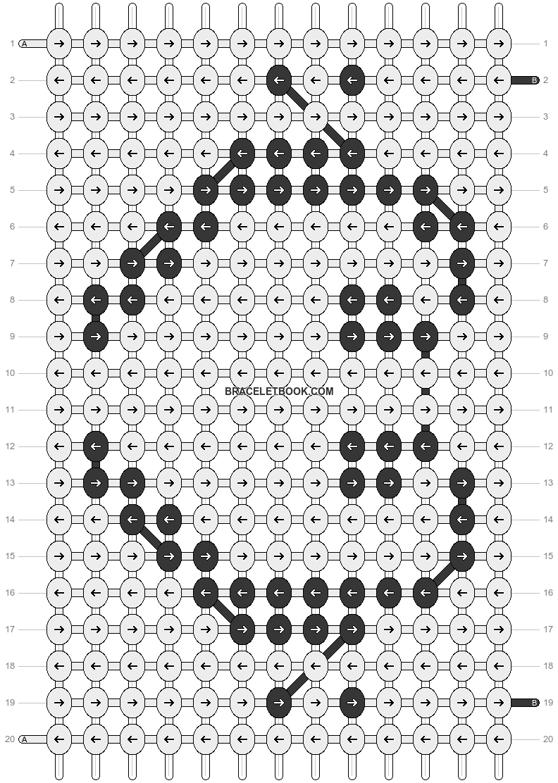 Alpha pattern #12773 pattern