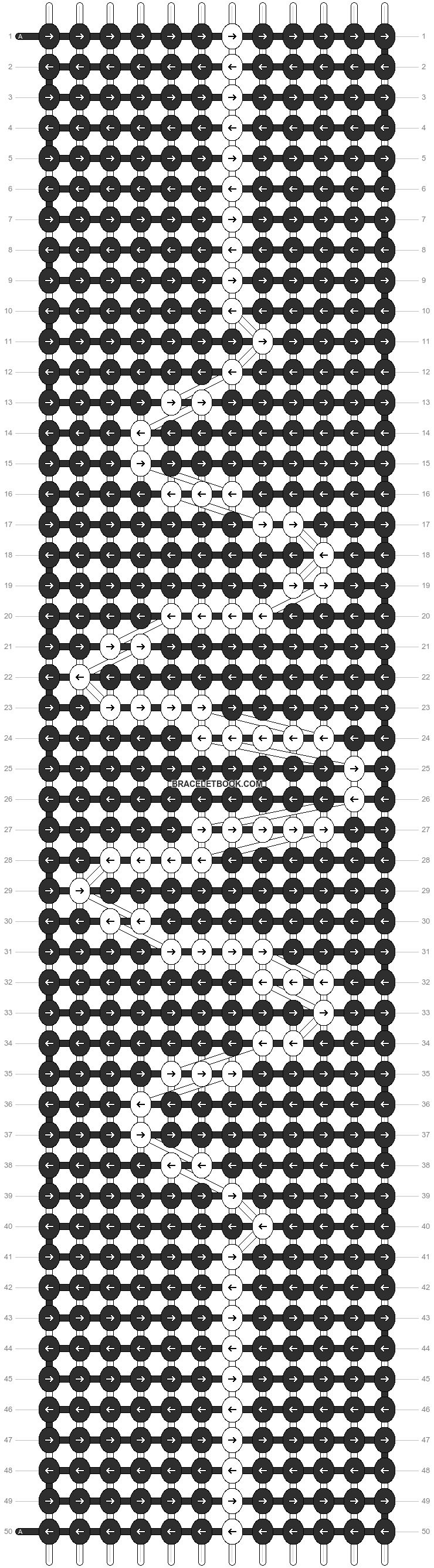 Alpha pattern #12780 pattern