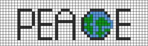 Alpha Friendship Bracelet Pattern #12784