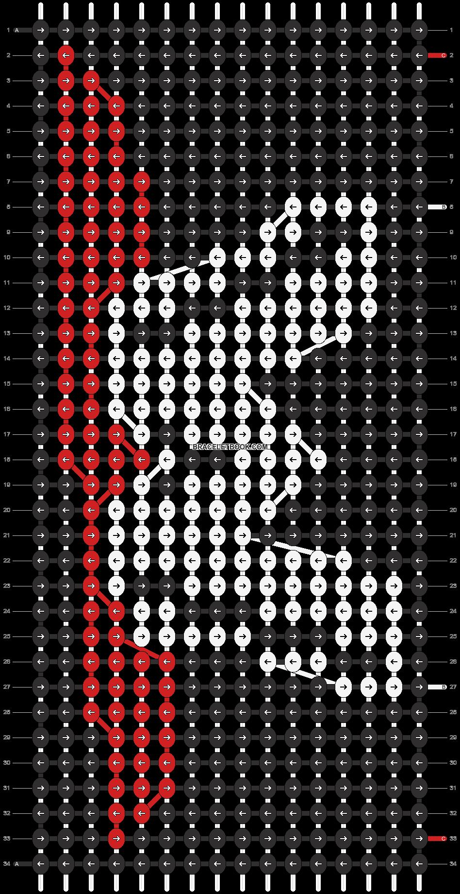 Alpha pattern #12787 pattern