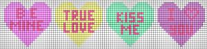 Alpha Friendship Bracelet Pattern #12789