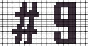 Alpha Friendship Bracelet Pattern #12796