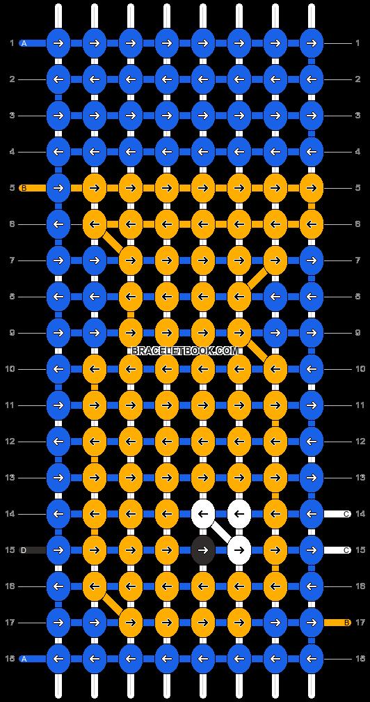 Alpha pattern #12800 pattern