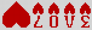 Alpha pattern #12803
