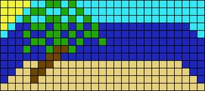 Alpha Friendship Bracelet Pattern #12807