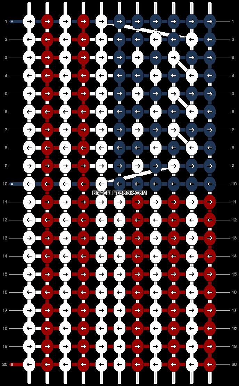 Alpha pattern #12810 pattern