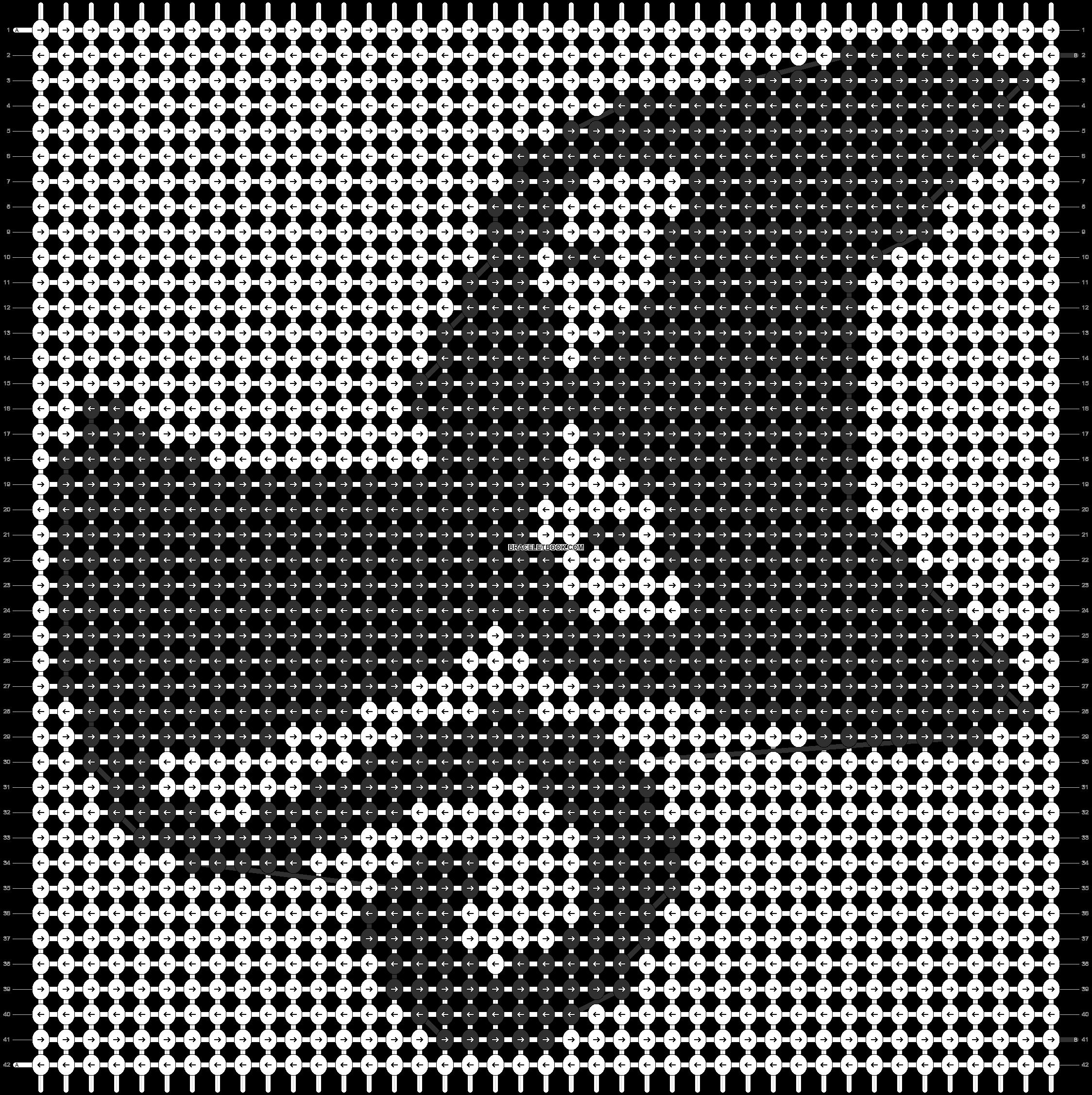 Alpha pattern #12811 pattern
