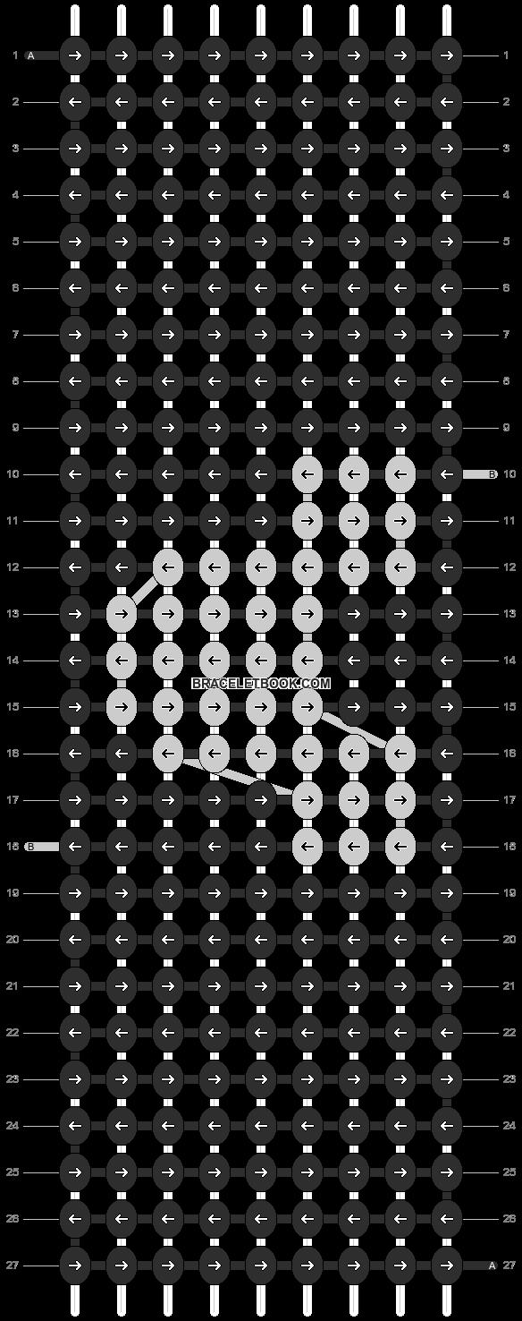 Alpha pattern #12818 pattern