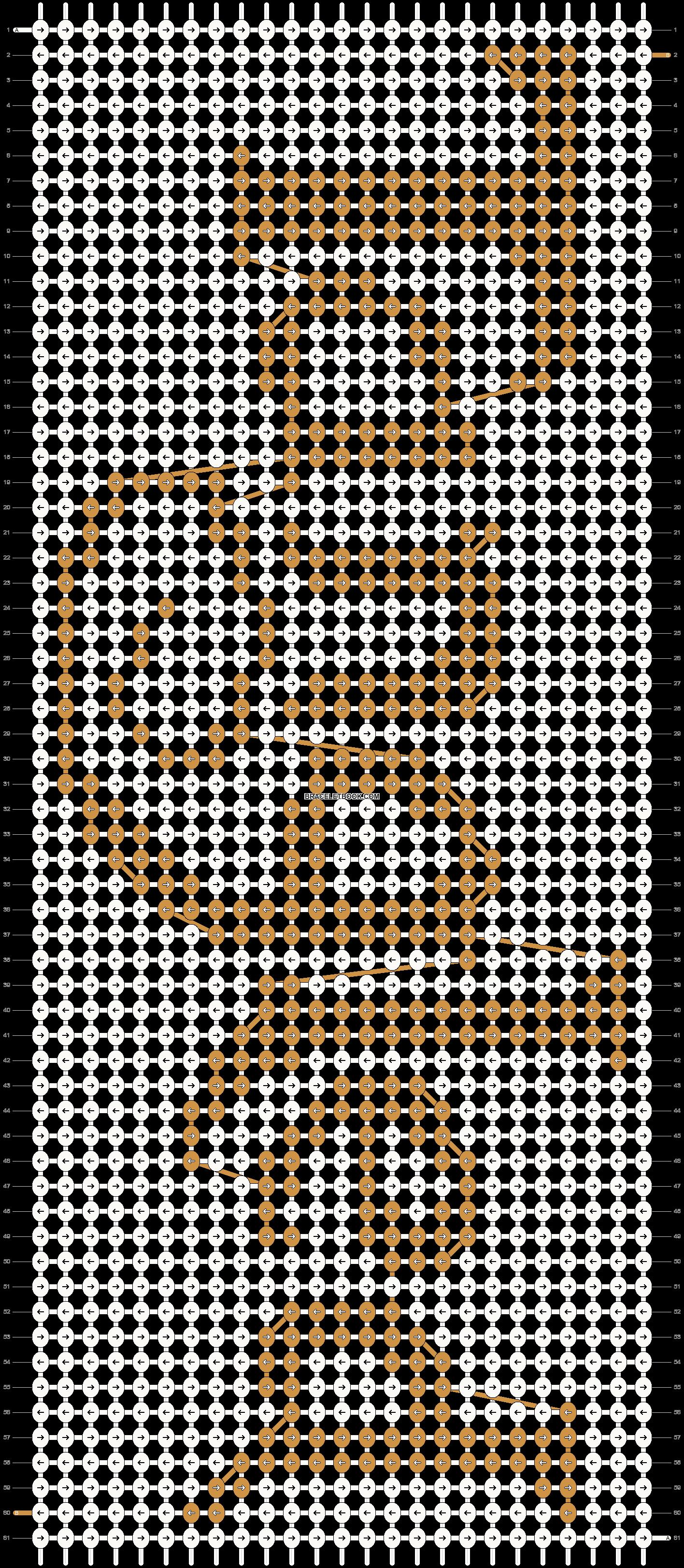 Alpha pattern #12820 pattern