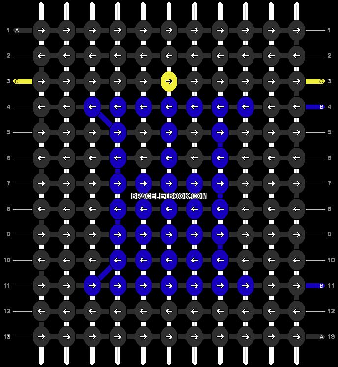 Alpha pattern #12822 pattern