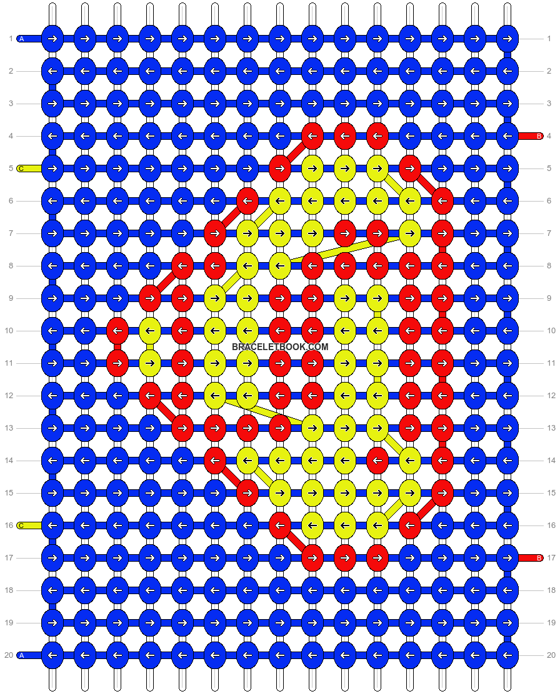 Alpha pattern #12827 pattern