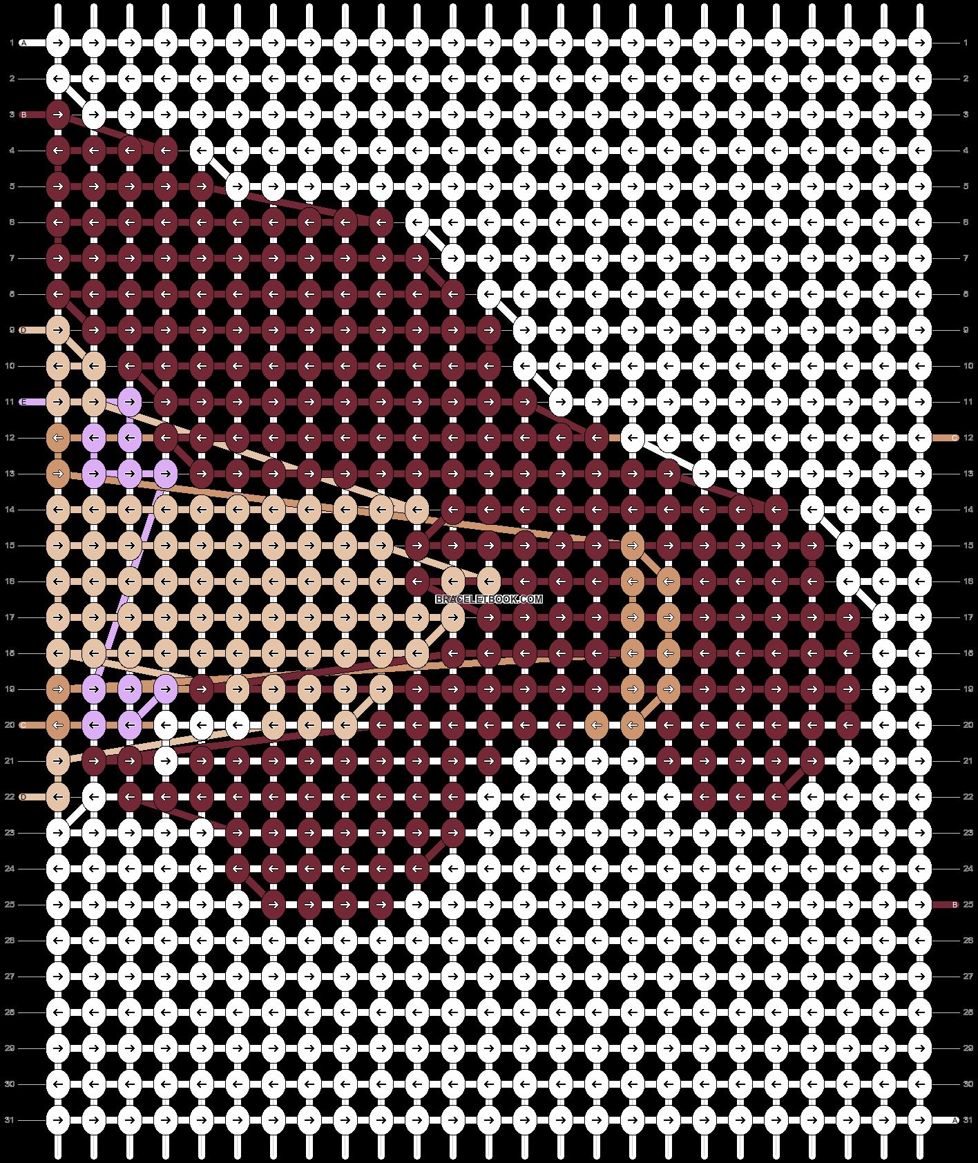 Alpha pattern #12828 pattern