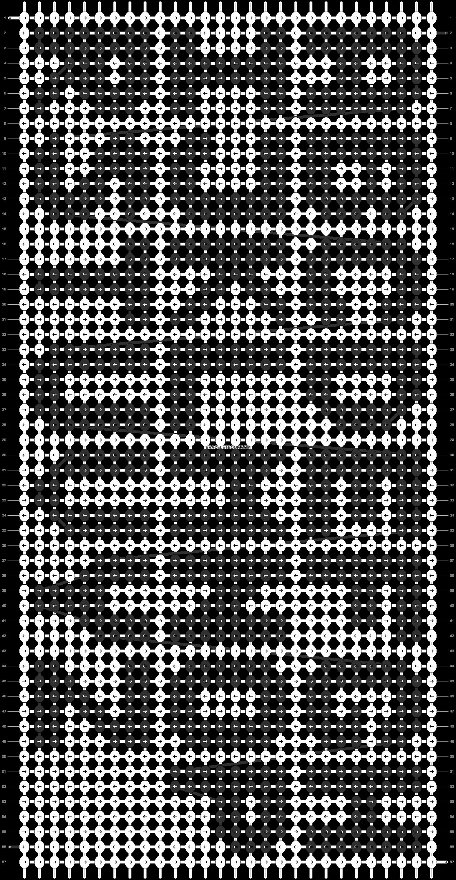 Alpha pattern #12833 pattern