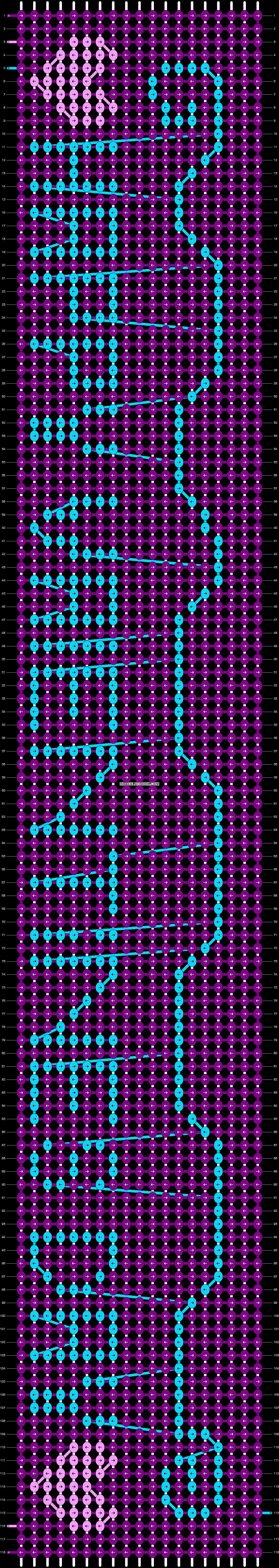 Alpha pattern #12836 pattern