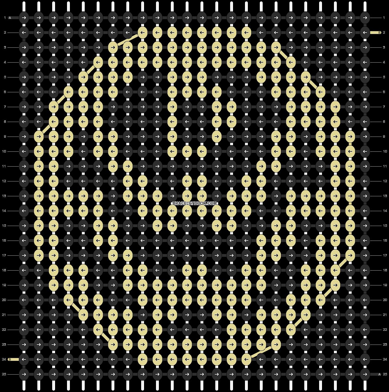 Alpha pattern #12837 pattern