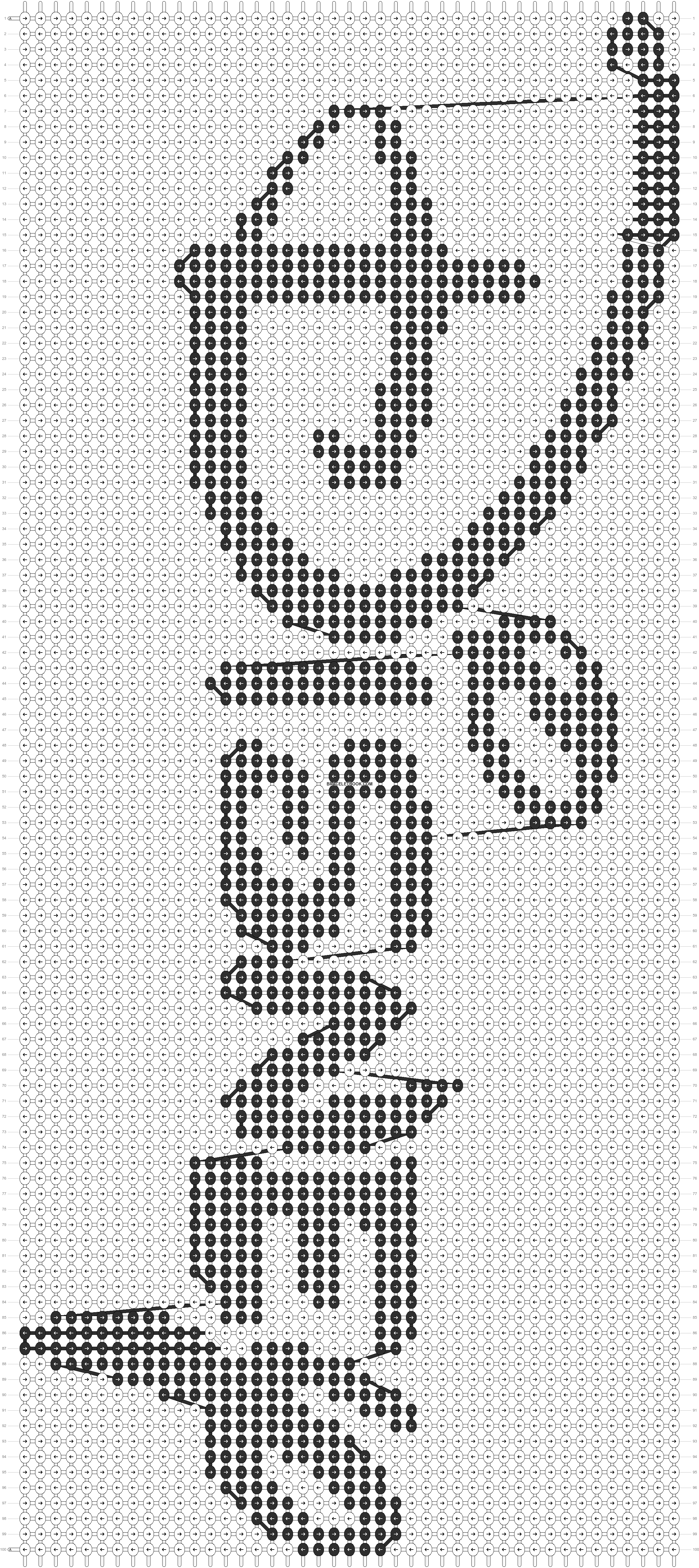 Alpha pattern #12842 pattern