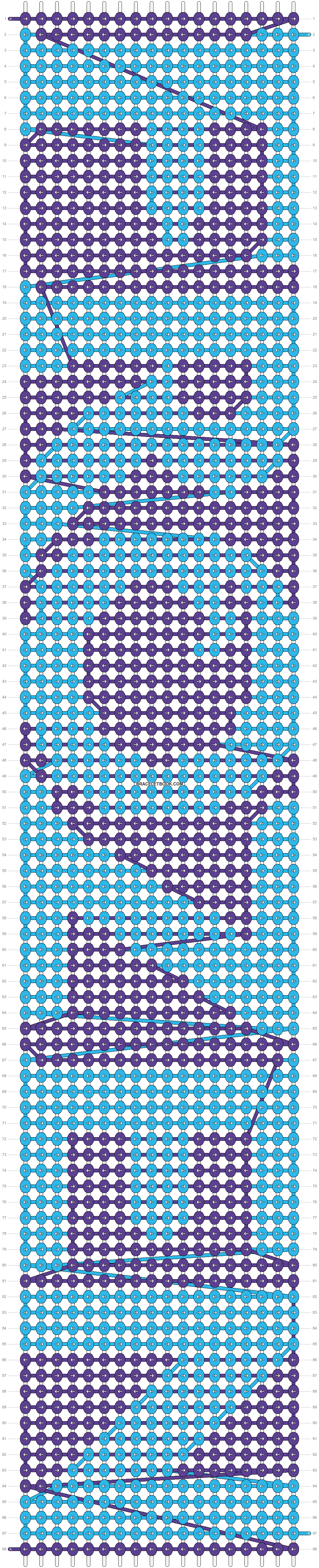 Alpha pattern #12844 pattern