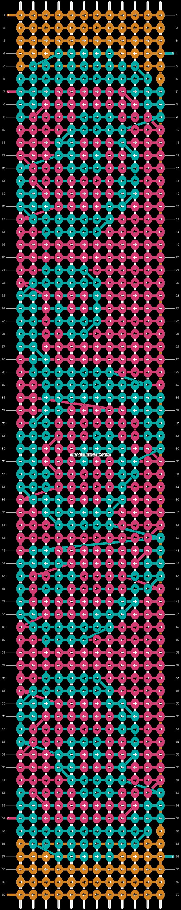 Alpha pattern #12846 pattern