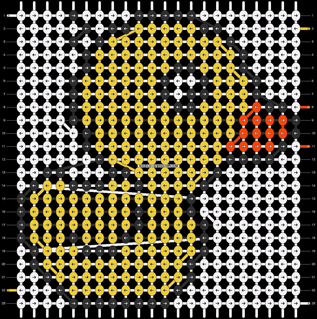 Alpha pattern #12850 pattern