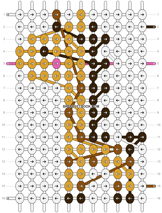Alpha pattern #12851 pattern