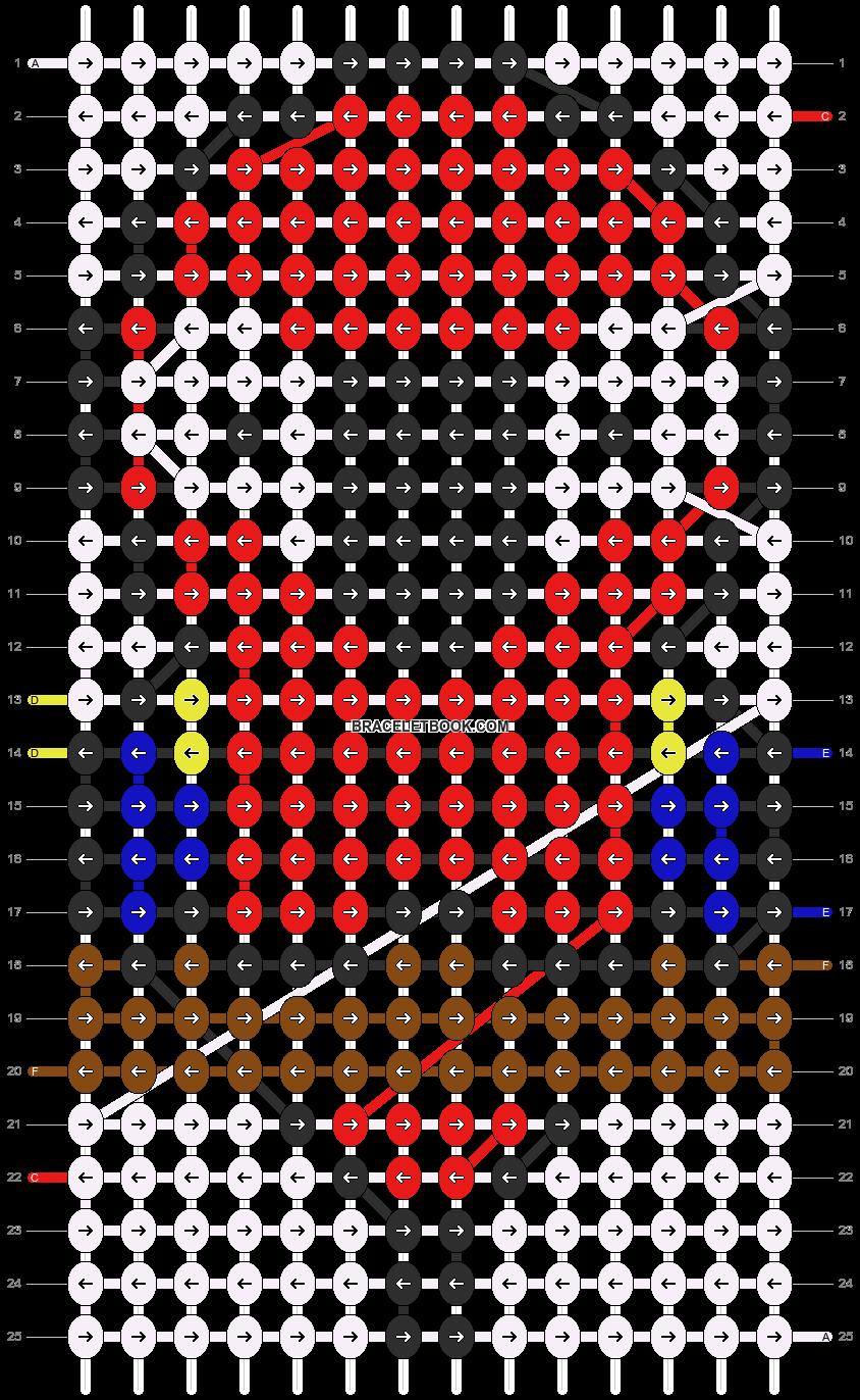 Alpha pattern #12852 pattern
