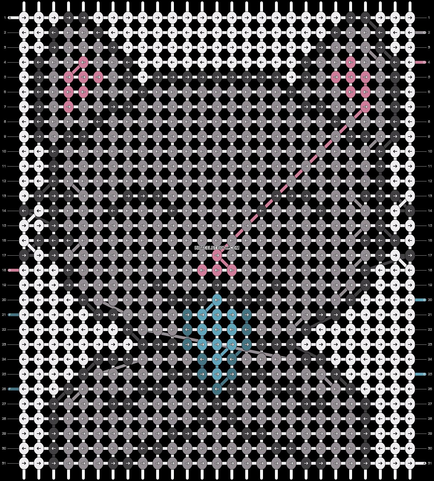 Alpha pattern #12854 pattern