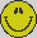 Alpha Friendship Bracelet Pattern #12867
