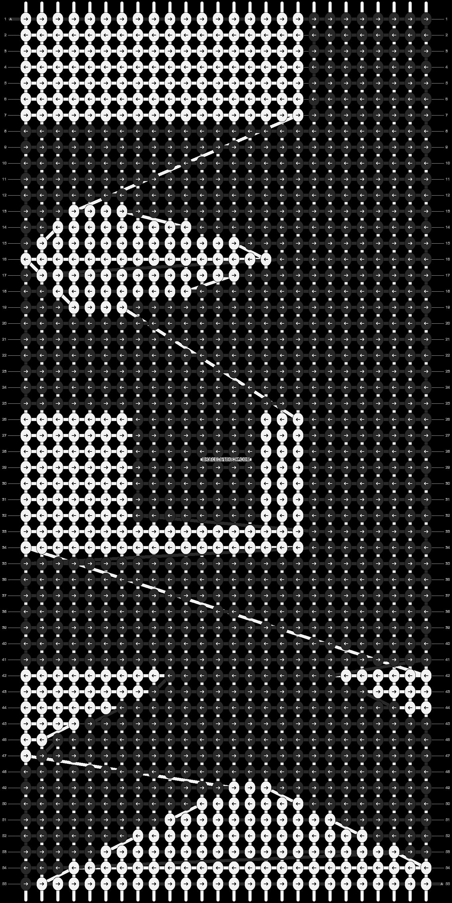 Alpha pattern #12868 pattern