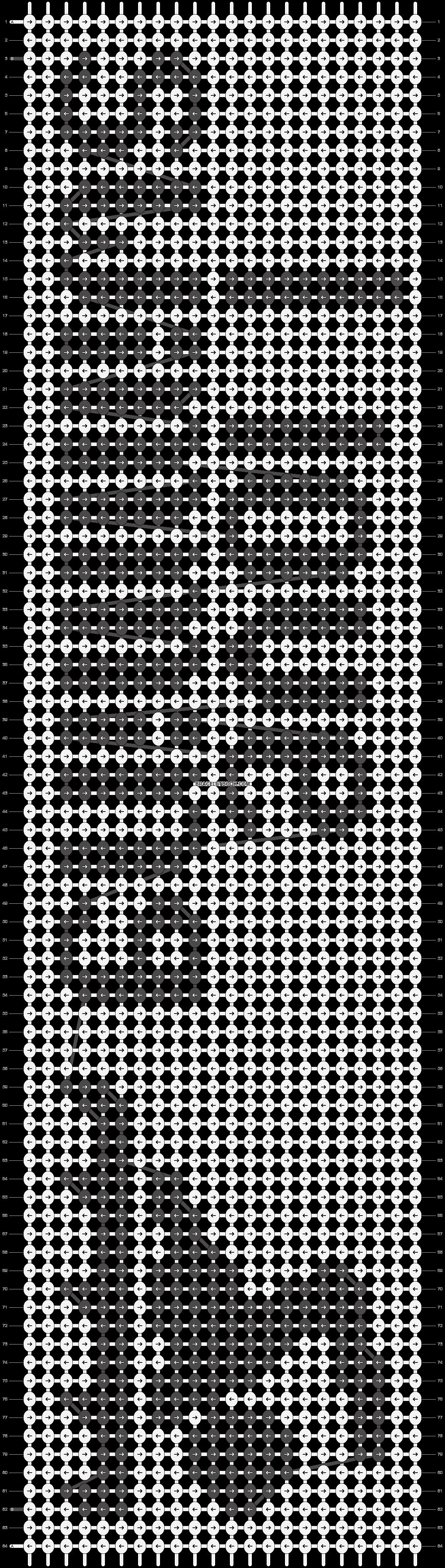 Alpha pattern #12870 pattern