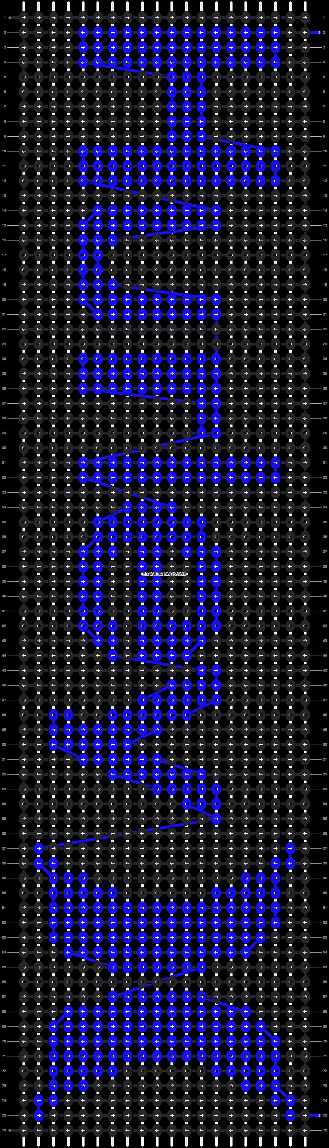 Alpha pattern #12871 pattern