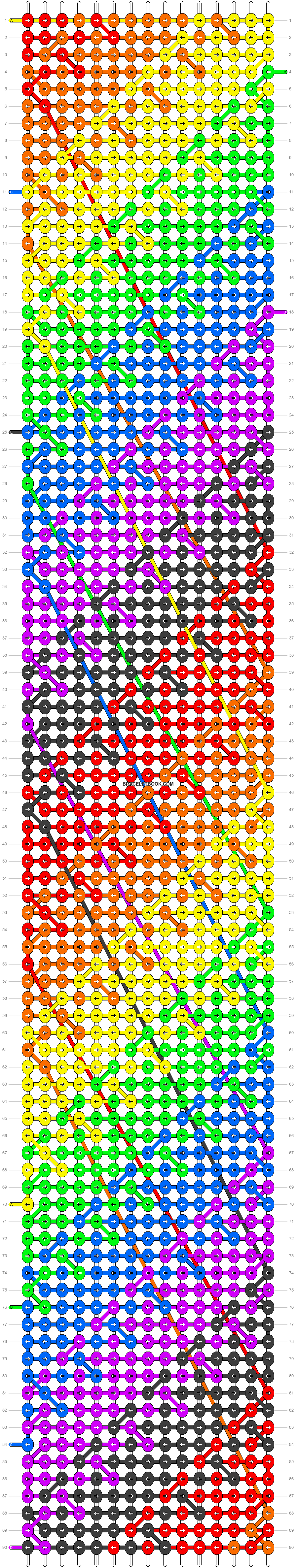 Alpha pattern #12872 pattern