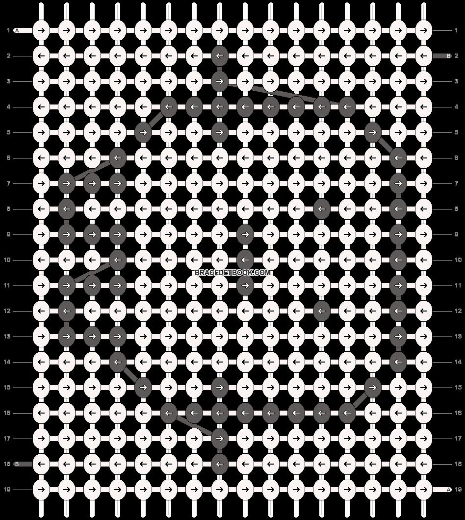 Alpha pattern #12875 pattern
