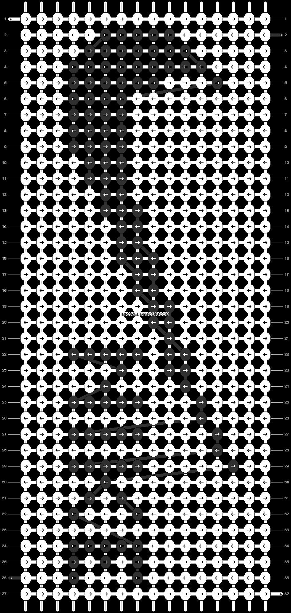 Alpha pattern #12878 pattern