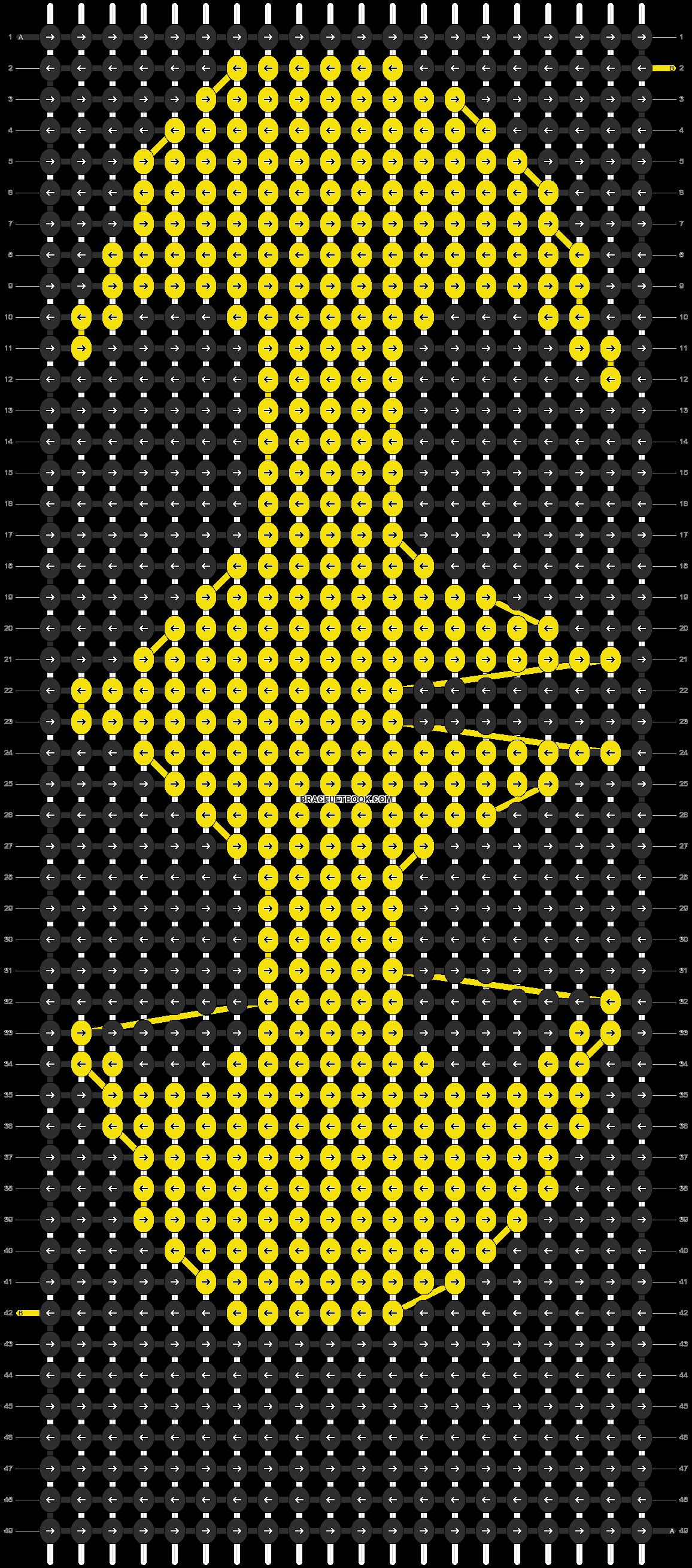 Alpha pattern #12884 pattern