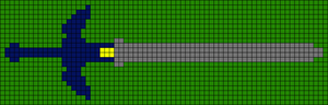 Alpha pattern #12887