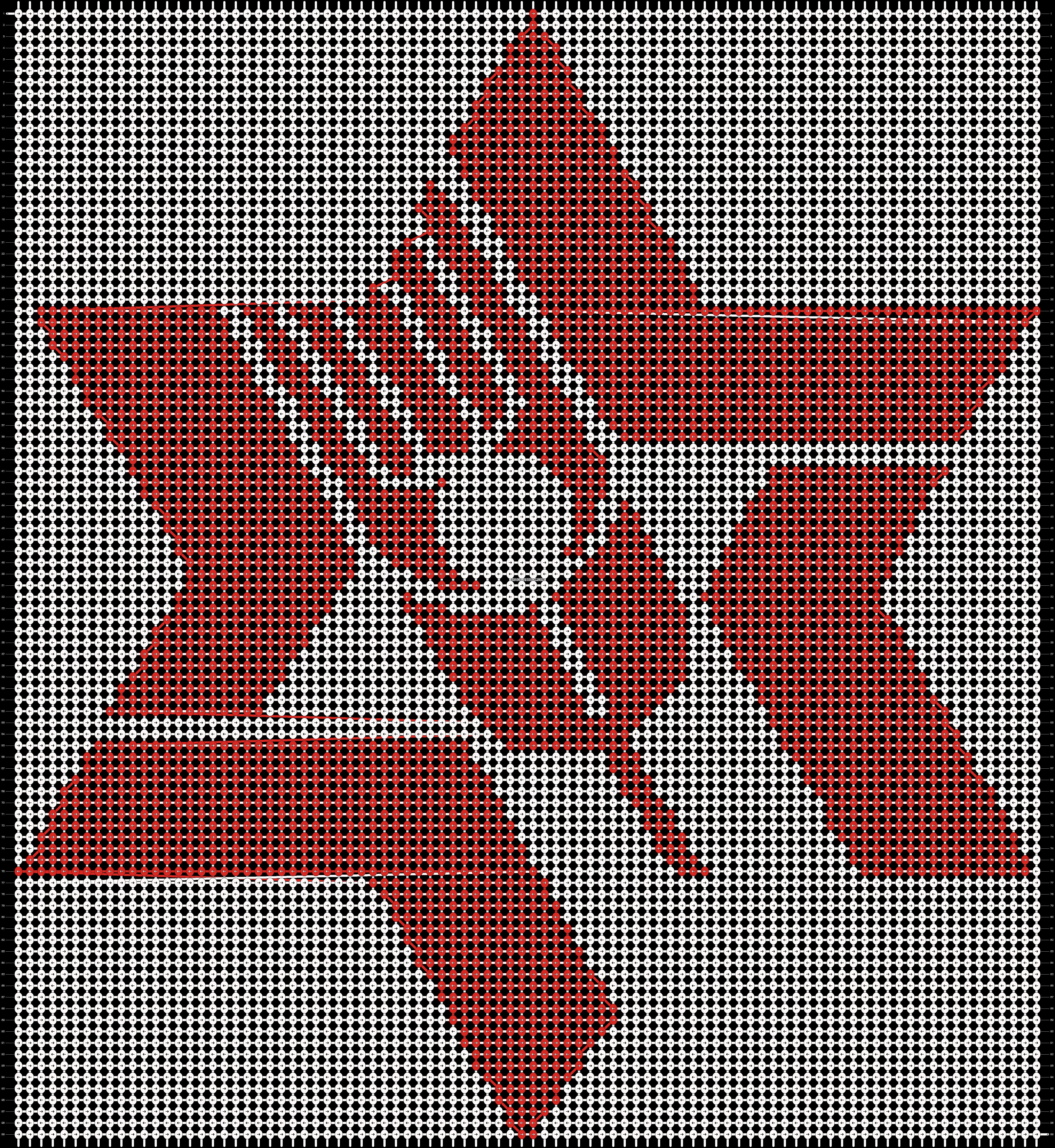 Alpha pattern #12892 pattern