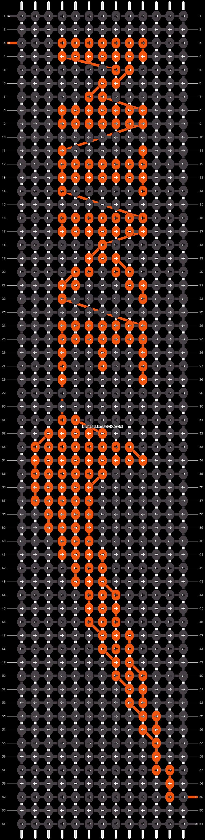Alpha pattern #12895 pattern