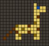Alpha Friendship Bracelet Pattern #12897