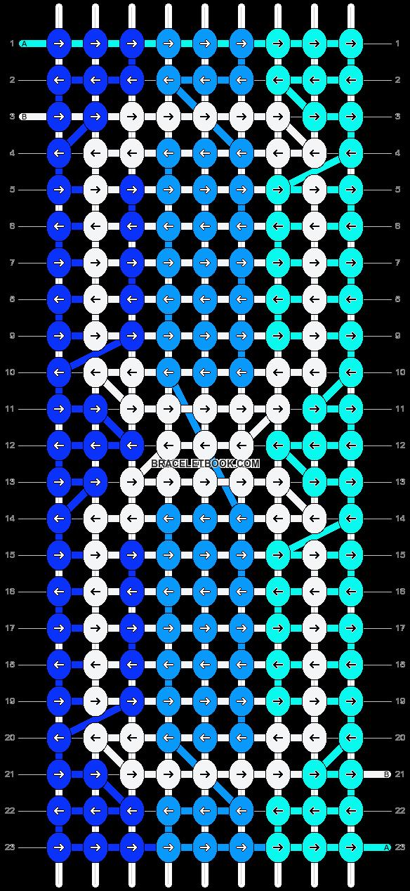Alpha pattern #12898 pattern