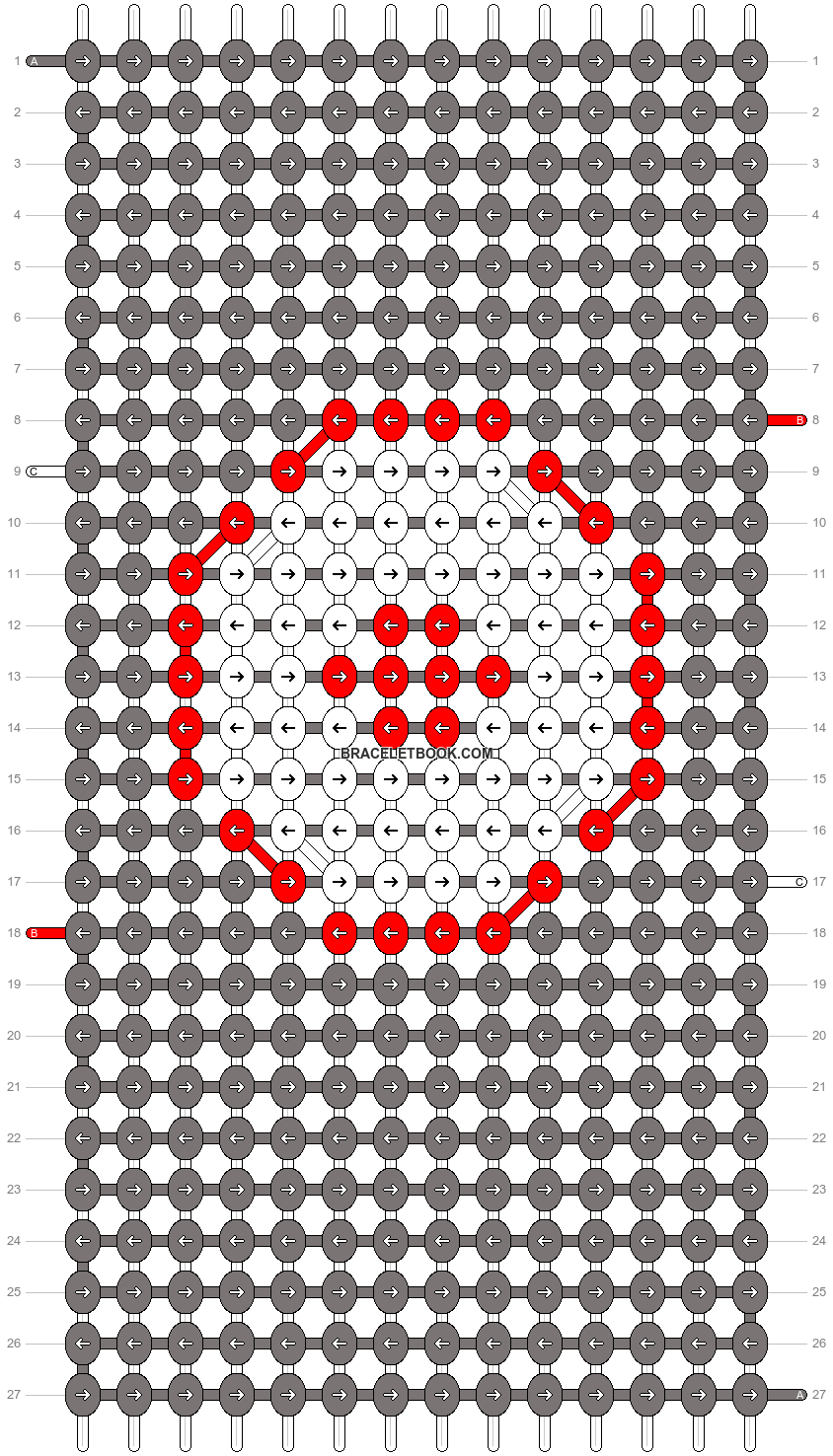 Alpha pattern #12899 pattern
