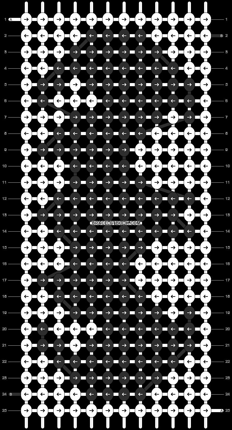 Alpha pattern #12902 pattern