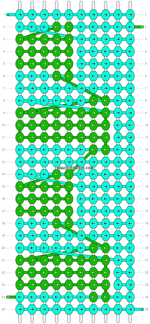 Alpha pattern #12916 pattern